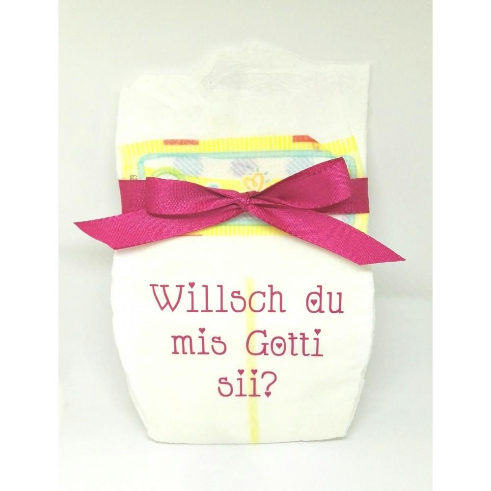 Windel Pink - Willsch du mis Gotti sii?