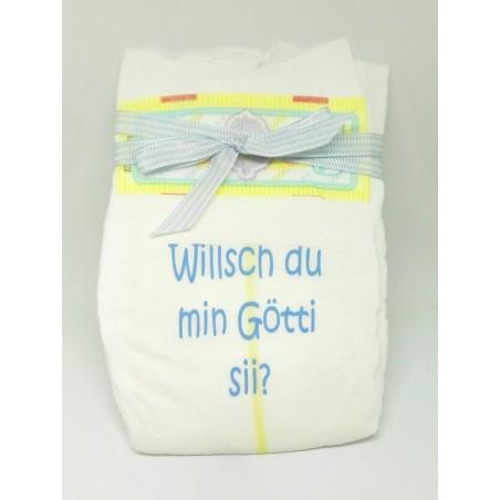 Windel 3 - Willsch du min Götti sii?