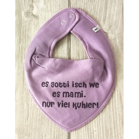 """Sabberlätzli """"Es Gotti isch we es Mami.."""""""