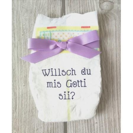 Windel 7 - Willsch du mis Gotti sii?