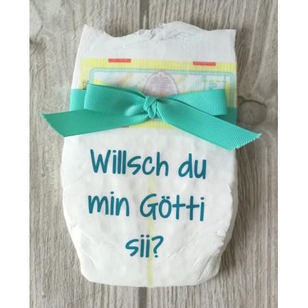 Windel 9 - Willsch du min Götti sii?