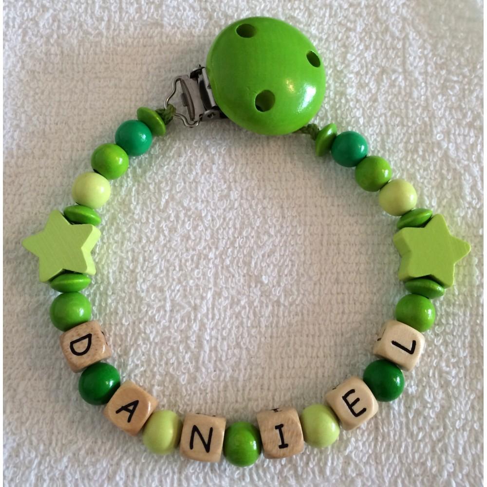 Stern - Gelbgrün
